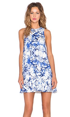 ELLIATT Reflections Swing Dress in Reflections Print