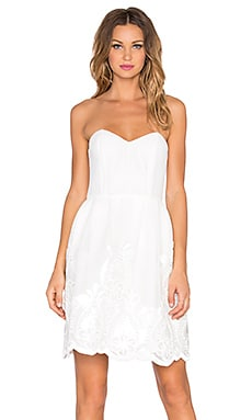 ELLIATT Wildflower Dress in White