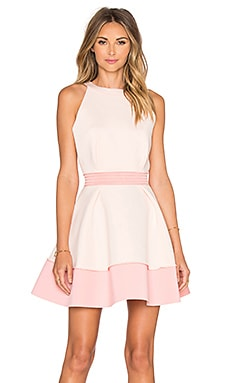 Splendor Dress in Blush and Melon