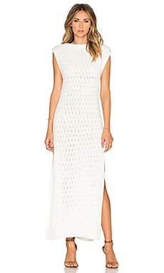 ELLIATT Dearest Knit Maxi Dress in Ivory