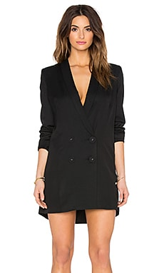 ELLIATT Maverick Blazer Dress in Black