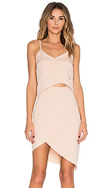ELLIATT x REVOLVE The Shot Tulip Dress in Nude