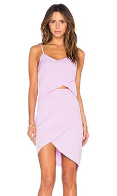 x REVOLVE The Shot Tulip Dress in Lavender