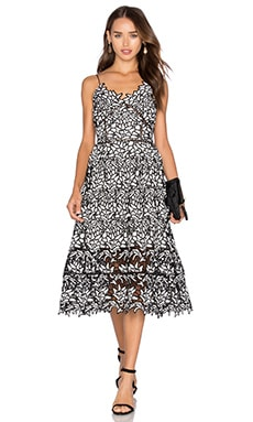 ELLIATT Paradise Dress in Monochrome