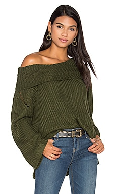 Camo Sweater in Khaki