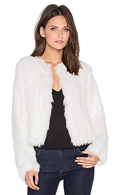 Moment Rabbit Fur Jacket