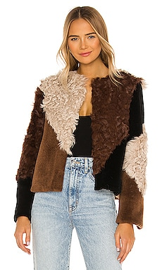 Rapallo Fur Jacket ELLIATT $301