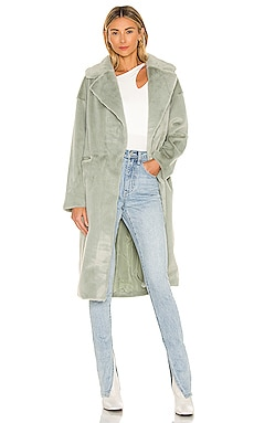 Zelda Faux Fur Coat ELLIATT $240