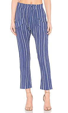Bliss Pant in Ink Stripe