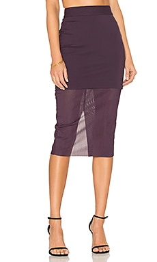 Allure Skirt in Plum