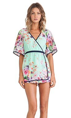 ELLIATT Scope Playsuit in Multi Floral