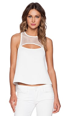 ELLIATT Impressions Top in White