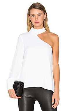 Cubism Top in White