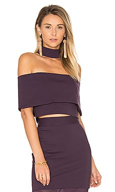 Allure Top in Plum