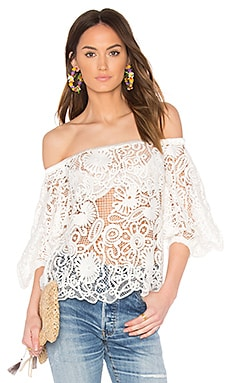 Serenity Off the Shoulder Top in Ivory