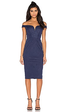 Lucia Dress in Navy