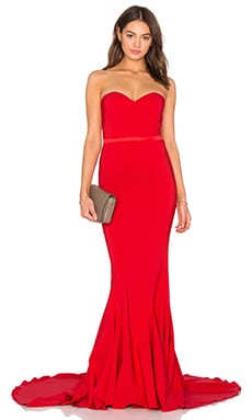 Elle Zeitoune Ariana Gown in Red