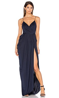 Elle Zeitoune Susanna Maxi Dress in Midnight