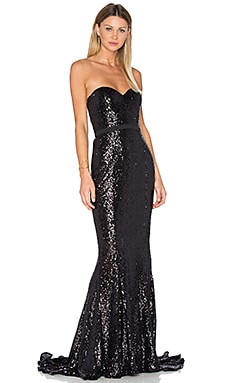 Cheyna Gown in Black