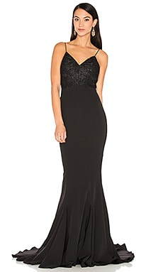 Becca Gown in Black