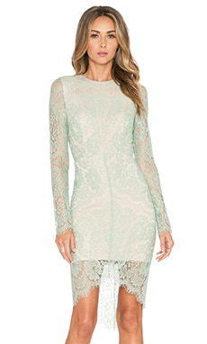Elle Zeitoune Melanie Dress in Mint