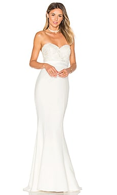Kiara Gown in White