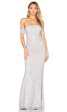 Andi Gown in Silver