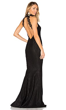 Medina Gown in Black