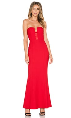 Elle Zeitoune LUXE Monica Dress in Red