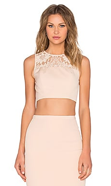 Elle Zeitoune Sheri Crop Top in Nude