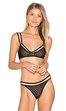 Hidden Layer Triangle Soft Cup Bra