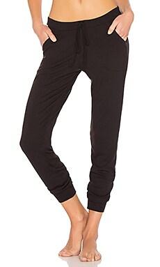 Chevron Cashmere Blend Track Pants