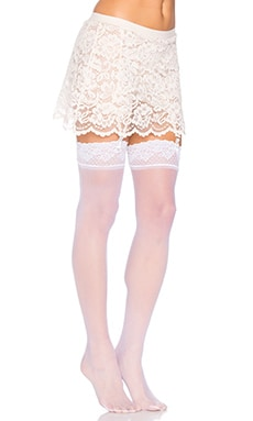 else Garter Skirt in Crema