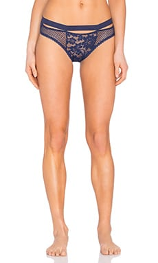 Sporty Bikini Brief in Navy Blue