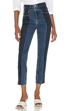 The Twin Straight Leg Jean E.L.V. DENIM $319 Sustainable