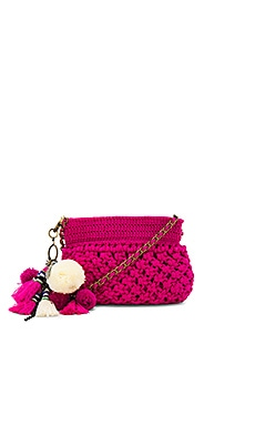 Dune Eve Crossbody Bag in Magenta