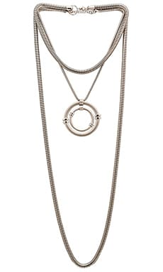Emerald Duv Mac Daddy Necklace in Silver