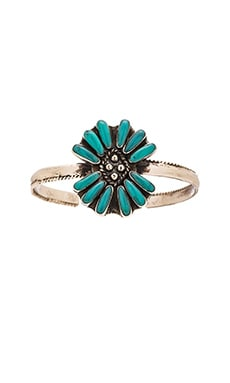 Emerald Duv Orissa Bracelet in Silver & Turquoise