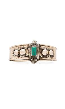 Emerald Duv Birds Eye View Bracelet in Silver & Turquoise