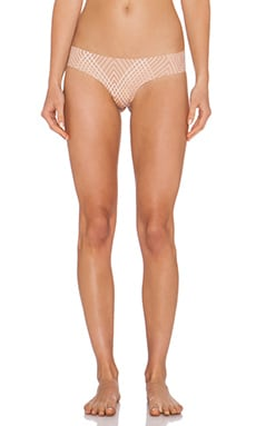 Empowered by You Thong in Beige Print