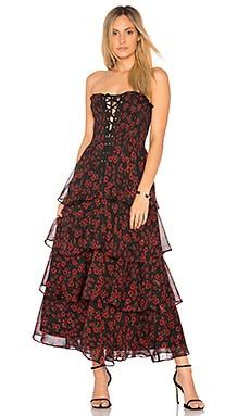 Night Blossom Maxi Dress