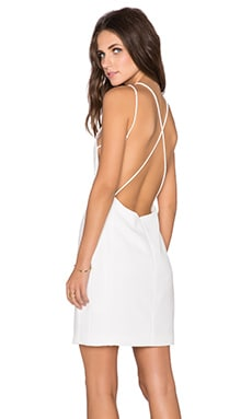 Endless Rose Open Back Dress in White