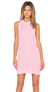 Endless Rose Cut Out Knit Dress in Pink