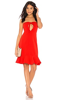 Bow Tie Strapless Dress Endless Rose $47