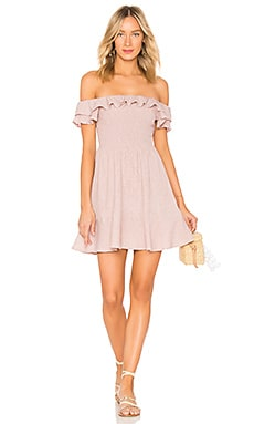 Smocked Bodice Dress Endless Rose $44
