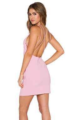 Endless Rose Open Back Dress in Pink