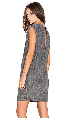 Endless Rose Shimmer Mini Dress in Silver