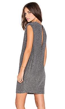 Endless Rose Shimmer Mini Dress in Silver