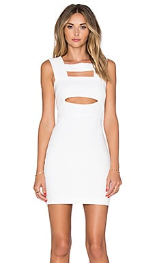 Endless Rose Cut Out Dress in Ivory