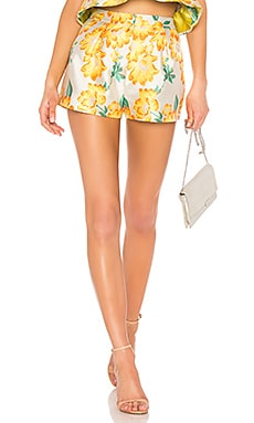 Brocade Shorts Endless Rose $51